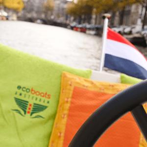 Varen in Amsterdamse grachten zonder vaarbewijs