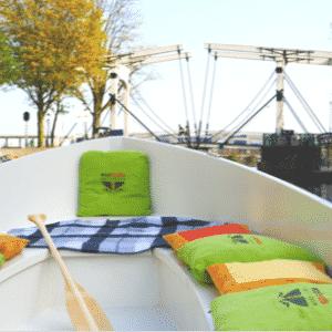 Eco boat varen Amsterdam