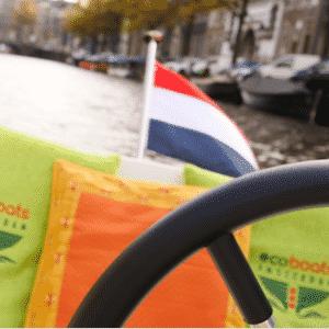 varen in de Amsterdamse grachten