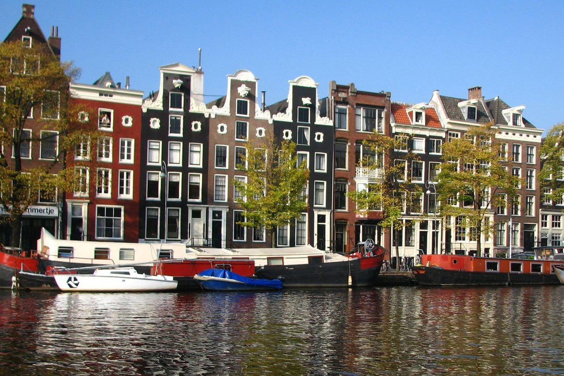 Vaarroute Amsterdam