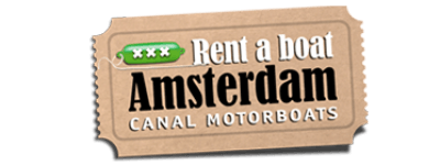 Canal motorboats Amsterdam logo