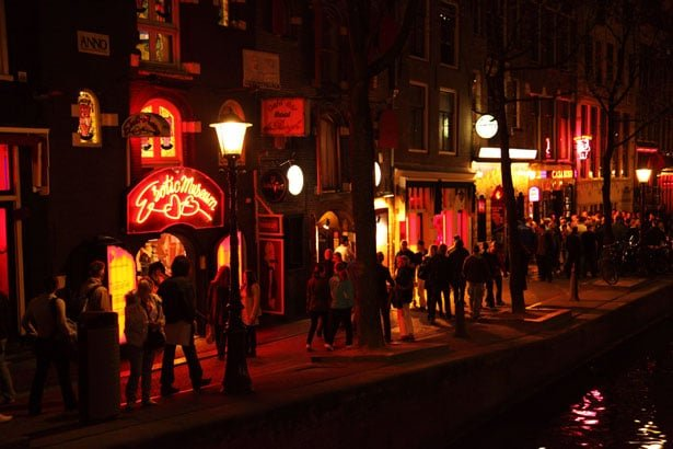 Varen door de wallen Amsterdam
