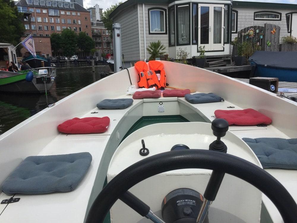 in amsterdam varen