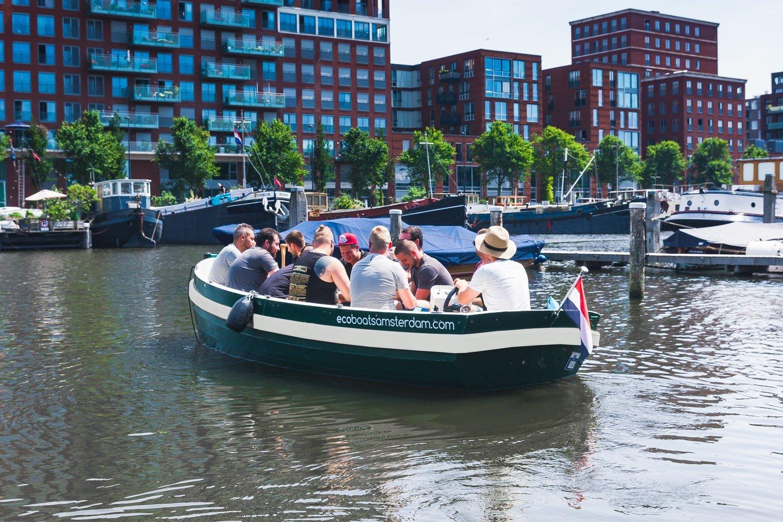 boot uitje amsterdam