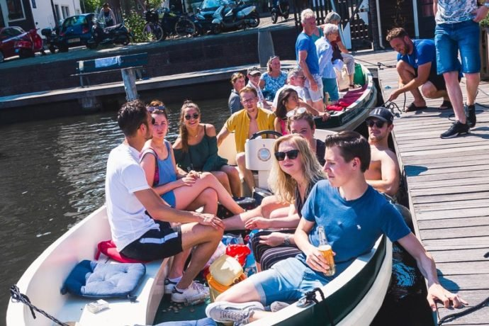 Familie uitje Amsterdam: Varen in Amsterdam met de hele familie